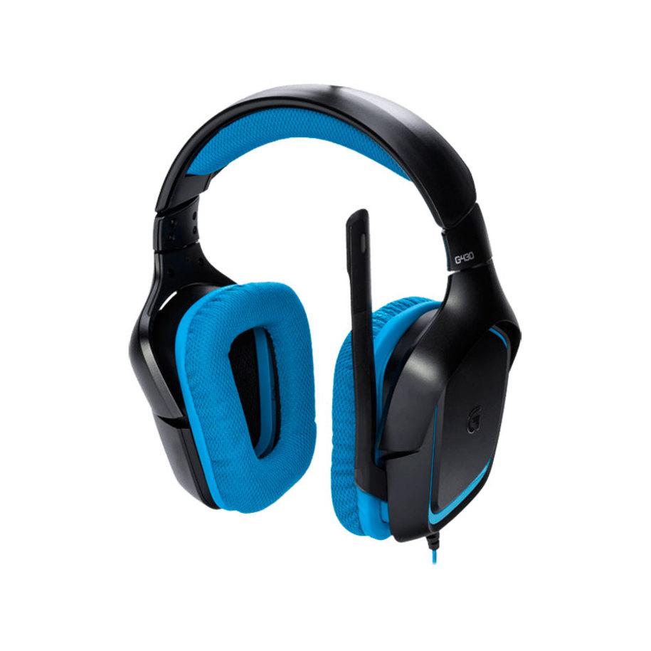 f1dca831809 Headphones LOGITECH G430 SURROUND SOUND GAMING